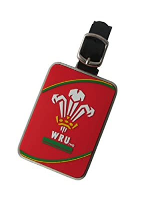 Wales Rugby Union Metal Luggage Tag from Wales Rugby Union