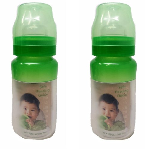 Green Sprouts Silicone Feeding Bottle: 8 Oz. (2 Pack)