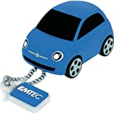Emtec 8GB USB 2.0 Flash Drive - Fiat 500 Blue