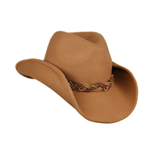 camel-winter-shapeable-brim-wool-cowboy-hat-with-adorable-braided-chain-band