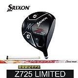 ダンロップ SRIXON Z725 リミテッドモデルドライバー Miyazaki KENA Limited6 シャフト:Miyazaki KENA Limited6 10.5度 S 45インチ