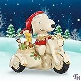 PEANUTS(TM) Snoopy on Motorcycle Figurine by Lenox