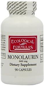 Ecological Formulas Monolaurin 600mg - 90 Capsules
