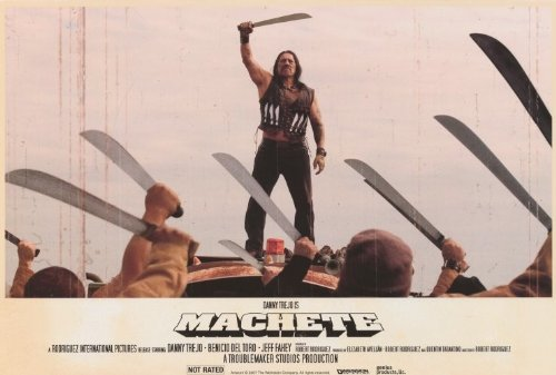 Machete Poster Movie (27 X 40 Inches - 69Cm X 102Cm) (2010)