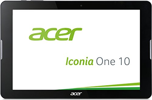 Acer Iconia One 10 (B3-A20B) 25,7 cm (10,1 Zoll HD) Tablet-PC (MTK MT8163, 1GB RAM, 16GB eMMC, Android 5.1) schwarz