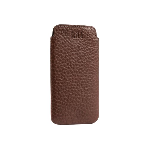 Great Price Sena 826613 Ultra Slim Leather Sleeve for iPhone 5 & 5s - 1 Pack - Retail Packaging - Brown