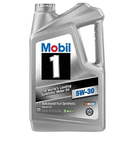Mobil 1 112976 case 5w 30 synthetic motor oil 5 1 quart for Case of motor oil prices