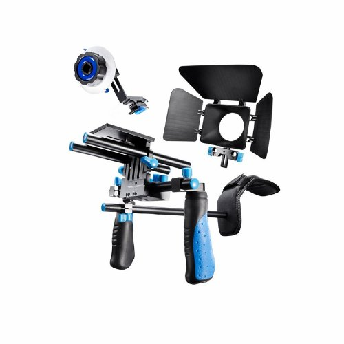 eimo-Pro-DSLR-Rig-Movie-Kit-supporto-della-spalla-Rig-con-segue-il-fuoco-e-Matte-Box-per-Tutti-DSLR-e-video-Videocamere