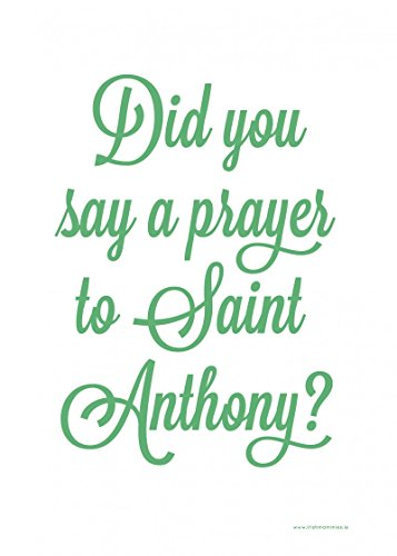 Saint Anthony Dish / Tea Towel