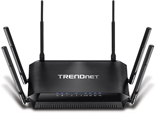 TRENDnet TEW-828DRU AC3200 DD-WRT Gigabit Tri-Band Wi-Fi Router (Certified Refurbished) (Ac Tri Band Router compare prices)
