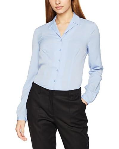 Nife Bluse klassisch blau
