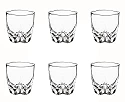 Luminarc Lisbonne Old Fashion Tumbler Set, 300ml, Set of 6, Transparent