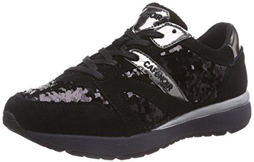 CAFèNOIR Sneakers, Scarpe da corsa donna, Nero (Schwarz (010 NERO)), 39