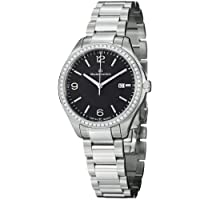 Maurice Lacroix Miros Black Dial Steel Diamond Ladies Watch MI1014-SD502-330 from Maurice Lacroix