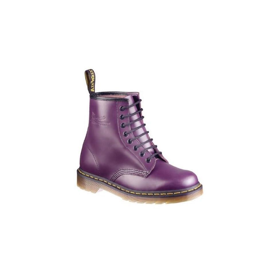 d3fc0739af5de3 Dr. Martens 8 Loch Stiefel 1460 Purple Smooth Schuhe on PopScreen