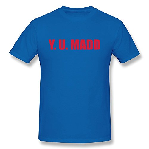 Y U Madd Boy Fitted Quilt Tees - Ultra Cotton front-381420