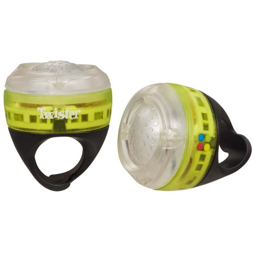 Twister Rave Ringz Game, Yellow