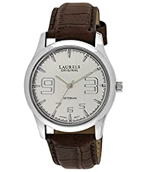 Laurels Veteran 2 Analog Silver Dial Mens Watch ( Lo-Vet-202)