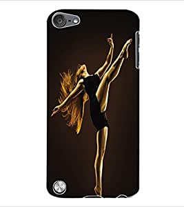 ColourCraft Dance Back Case Cover for APPLE IPOD TOUCH 5