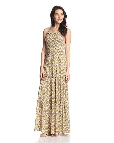 A'reve Women's Maxi Halter Dress