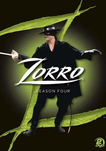 Cover art for  Zorro: The Complete Season Four