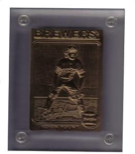 Highland Mint 1975 Robin Yount Topps Bronze Mint-Card