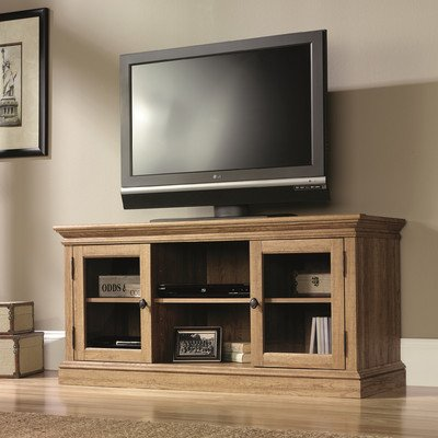 Sauder Barrister Lane Spectacle Credenza - Scribed Oak