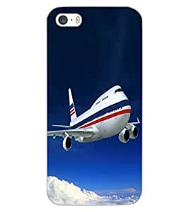 APPLE IPHONE 5S AIRPLANE Back Cover by PRINTSWAG