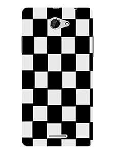 Treecase Designer Printed Hard Back Case Cover For HTC Desire 516