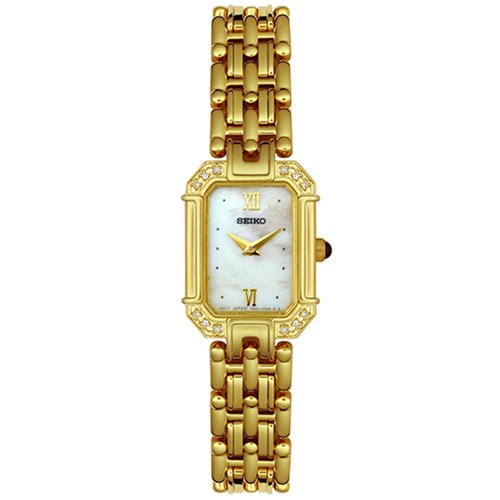 Seiko Women's SUJE12 Diamond Accented Bracelet Watch