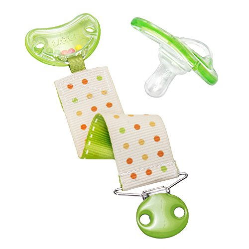 Munchkin Latch Lightweight Pacifier and Rattle Clip, 0+ Months