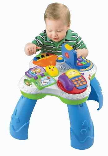 Fisher-Price Laugh & Learn Fun with Friends Musical Table Activity Center - 1