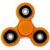 Frappel Gear Spinner Fidget Spinner Hand Spinner Fun, Anti-Stress, Focus,ADHD, Anxiety (Orange)