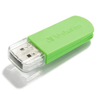 Verbatim 64 GB Store 'n' Go Mini USB 2.0 Flash Drive, Eucalyptus Green 49834