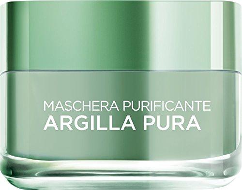 L'Oréal Skin Expert Paris Maschera Purificante Argilla Pura, 50 ml
