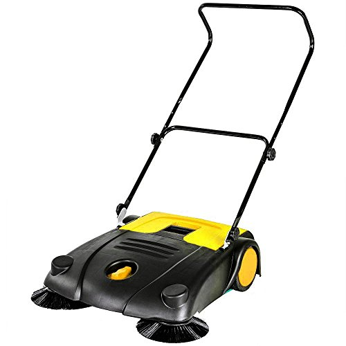 oypla-20l-litre-floor-garden-manual-push-brush-yard-sweeper-cleaner
