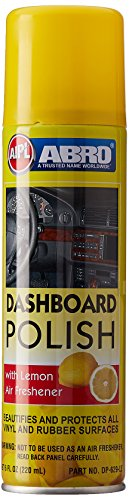 Abro DP-629-LE Lemon Scented Dashboard Polish (220 ml)