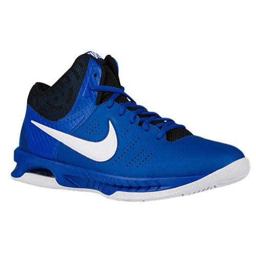 Nike Mens Air Visi Pro VI Basketball Shoes (7, Game Royal/Black/Photo Blue/White)