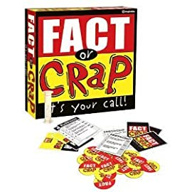 Imagination Fact Or Crap Board Game