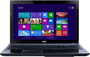 Acer Aspire V3-771G 17.3-inch Laptop - Grey (Intel Core i3 3110M 2.4GHz, 6GB RAM, 500GB HDD, Blu-ray, LAN, WLAN, BT, Webcam, Nvidia Graphics, Windows 8 64-bit)