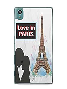 YuBingo Love in Paris Mobile Case Back Cover for Sony Xperia Z5