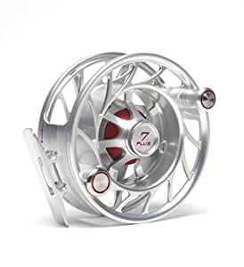 New Hatch 7 Plus Finatic Fly Fishing Reel Clear Red by Winston