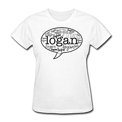 Spreadshirt Women's Logan Henderson Names MP T-Shirt, white, S