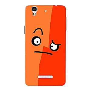 Mobile Back Cover For Micromax Yureka (Printed Designer Case)