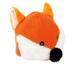 IMLECK Baby Kids Warm Winter Hats Animal Fox Children Cotton Knit Hat