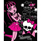 Draculaura Monster High 2 fleece blanket