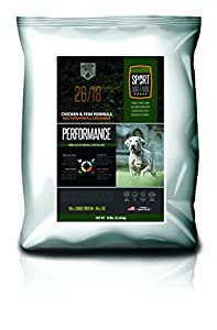 SportDogFood Canine Athlete Dog Food, Performance Recipe 26/18, 50-Pound