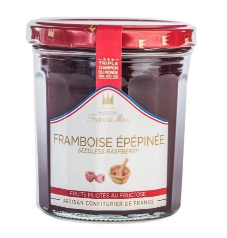 Confiture de framboise épépinée (340 grammes) Francis Miot