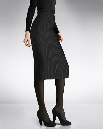 Shape fx The Nip & Tuck Pencil Skirt Classic Pinstripe