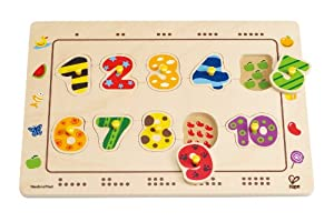 Hape - Numbers Matching Peg Puzzle